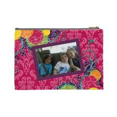 Mom And Yeusuel By Kim   Cosmetic Bag (large)   H5qoyjojnqos   Www Artscow Com Back