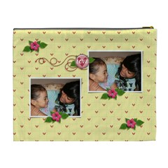 Cosmetic Bag (xl): Friends Forever By Jennyl   Cosmetic Bag (xl)   Sukezr5916xr   Www Artscow Com Back