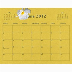 Calendar Yasen 2012 By Boryana Mihaylova   Wall Calendar 11  X 8 5  (12 Months)   Ii0kkw3u46xv   Www Artscow Com Jun 2012