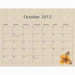 Calendar Yasen 2012 By Boryana Mihaylova   Wall Calendar 11  X 8 5  (12 Months)   Ii0kkw3u46xv   Www Artscow Com Oct 2012
