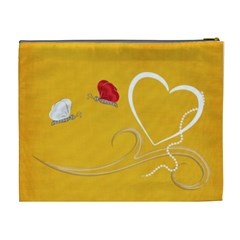 Sweet Heart Cosmetic Bag (xl) By Elena Petrova   Cosmetic Bag (xl)   Fu1v5cm13jkk   Www Artscow Com Back