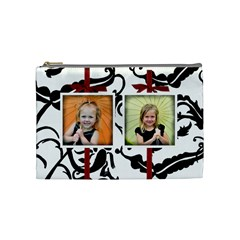 Medium Cosmetic Bag By Amanda Bunn By Amanda Bunn   Cosmetic Bag (medium)   W3x7n23sasfp   Www Artscow Com Front