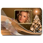 Golden Christmas Large Door Mat - Large Doormat