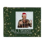 all i want for christmas - Cosmetic Bag (XL)