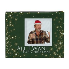 All I Want For Christmas By May   Cosmetic Bag (xl)   A8y0luu47g8q   Www Artscow Com Back