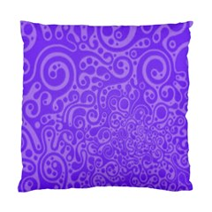Purple Cat Pillow By Patricia W   Standard Cushion Case (two Sides)   856a6chpcmlc   Www Artscow Com Back