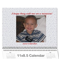 Mission Calendar 2012 By Jerilyn   Wall Calendar 11  X 8 5  (12 Months)   9paucz92p2et   Www Artscow Com Cover