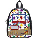 artistic - small backpack - School Bag (Small)