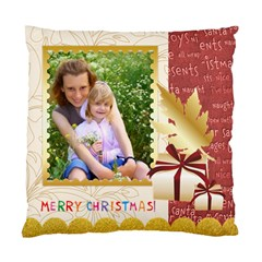 Merry Christmas  By Joely   Standard Cushion Case (two Sides)   Fp4909jmp78p   Www Artscow Com Front