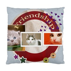 Friendship By Joely   Standard Cushion Case (two Sides)   I8fyn2jaytfc   Www Artscow Com Front