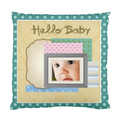 Hello Baby By Joely   Standard Cushion Case (two Sides)   J4qq34h6t5gv   Www Artscow Com Front