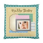 Hello baby - Standard Cushion Case (Two Sides)