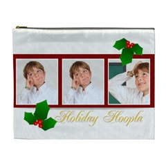 Merry Christmas By May   Cosmetic Bag (xl)   Sxphczr1z36c   Www Artscow Com Front