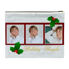 Merry Christmas By May   Cosmetic Bag (xl)   Sxphczr1z36c   Www Artscow Com Back