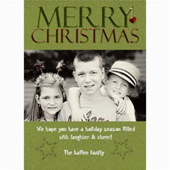Christmas Card By Lana Laflen   5  X 7  Photo Cards   H2e2q5phasop   Www Artscow Com 7 x5 Photo Card - 7