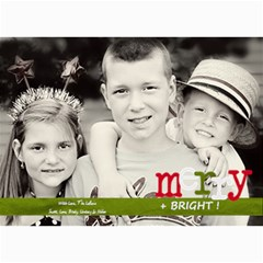 Merry & Bright Christmas Card By Lana Laflen   5  X 7  Photo Cards   3cljhj3ebf4r   Www Artscow Com 7 x5 Photo Card - 6