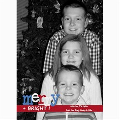 Merry & Bright Christmas Card By Lana Laflen   5  X 7  Photo Cards   3cljhj3ebf4r   Www Artscow Com 7 x5 Photo Card - 7