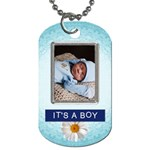 Its a Boy 2-Sided Dog Tag - Dog Tag (Two Sides)