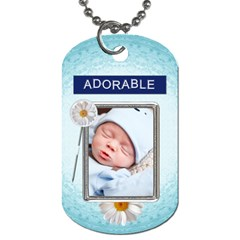 Its A Boy 2 Sided Dog Tag By Lil    Dog Tag (two Sides)   P2ck4nuyv5gw   Www Artscow Com Back