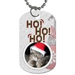 Ho Ho Ho 1-Sided Dog Tag - Dog Tag (One Side)