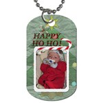 Happy Ho Ho 1-Sided Dog Tag - Dog Tag (One Side)