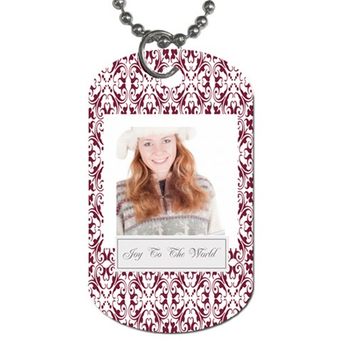 Christmas By May   Dog Tag (one Side)   Dxmtgfgocmwx   Www Artscow Com Front