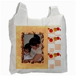 peach recycle bag - Recycle Bag (One Side)