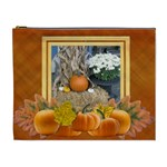 Pumpkin Delight XL Cosmetic Bag - Cosmetic Bag (XL)