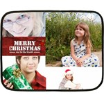 christmas - Double Sided Fleece Blanket (Mini)