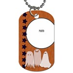 Ghost Tag by Amanda Bunn - Dog Tag (One Side)