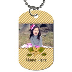 Dog Tag (two Sides): Simple Joys1 By Jennyl   Dog Tag (two Sides)   Atg43vkskdm1   Www Artscow Com Front