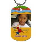 Dog Tag (Two Sides): BAck to School2