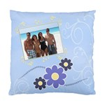 Serenity Blue Cushion Case (2xSides) - Cushion Case (Two Sides)