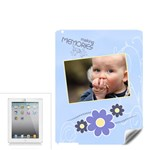Serenity Blue Apple ipad 2 Skin