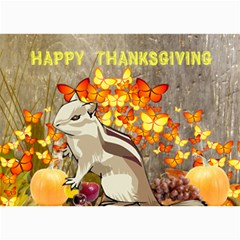 Thanksgiving Card 1 By Kim Blair   5  X 7  Photo Cards   Fcmnqbjyh3im   Www Artscow Com 7 x5  Photo Card - 8