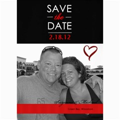 5x7 Save The Date Card By Lana Laflen   5  X 7  Photo Cards   52el3ph2dgd5   Www Artscow Com 7 x5 Photo Card - 4