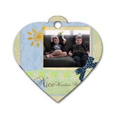 All Kids By Nancy    Dog Tag Heart (two Sides)   4wdcou9zs3nv   Www Artscow Com Back