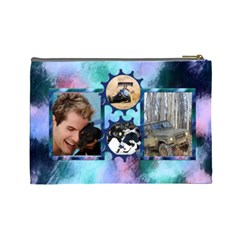Bloke Large Cosmetic Bag 1 By Deborah   Cosmetic Bag (large)   0i5kz3f9d19h   Www Artscow Com Back