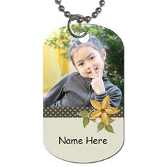 Dog Tag (two Sides): Simple Joys3 By Jennyl   Dog Tag (two Sides)   2gfcbsdy1akn   Www Artscow Com Front