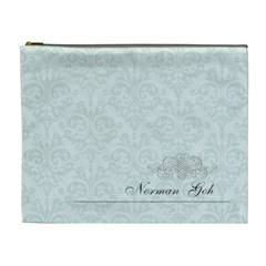 Norman By Juliana Gunardi   Cosmetic Bag (xl)   Cnofcvrantbx   Www Artscow Com Front