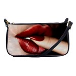 Touching Lips Purse - Shoulder Clutch Bag