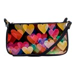 Big Hearts bag - Shoulder Clutch Bag