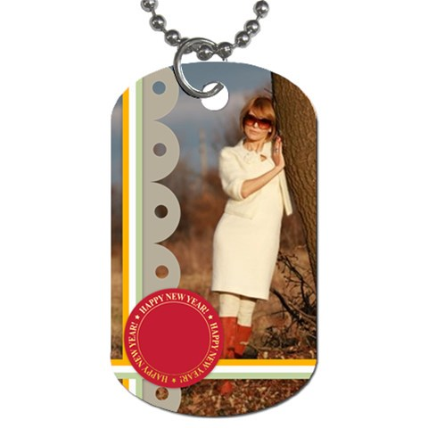 Xmas By May   Dog Tag (one Side)   Iij4dqf7gq3m   Www Artscow Com Front