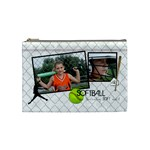 Softball Bag - Cosmetic Bag (Medium)