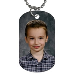 First Grandkids By Shirley   Dog Tag (two Sides)   Isvfc7z9a0el   Www Artscow Com Back