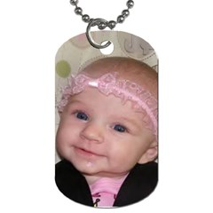 Emilee By Shirley   Dog Tag (two Sides)   0ptv8ildn46q   Www Artscow Com Front