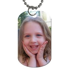 Emilee By Shirley   Dog Tag (two Sides)   0ptv8ildn46q   Www Artscow Com Back