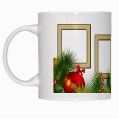 4 Photo Christmas Mug By Deborah   White Mug   F1h4oik55wyj   Www Artscow Com Left