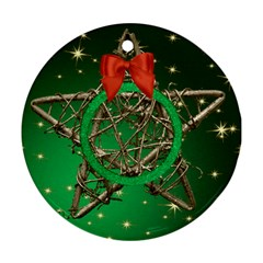 My Star Round Ornament (2 sided) by Deborah Back
