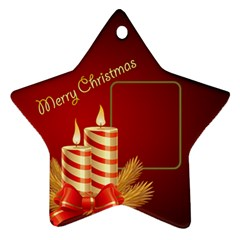 My Little Star Ornament (2 sided) by Deborah Back